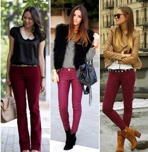 Bordeaux Chic Andreia Fashion